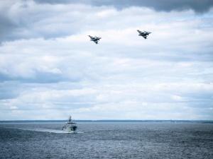 Demonstracja szwedzkiej siły na Bałtyku w odpowiedzi na rosyjskie manewry i sytuację na Białorusi