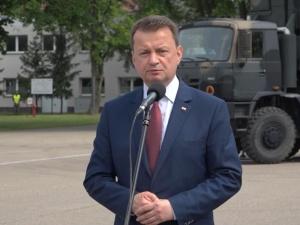 Błaszczak: Wojsko Polskie jest gotowe, aby drugi raz zbudować tymczasowy most na Wiśle...