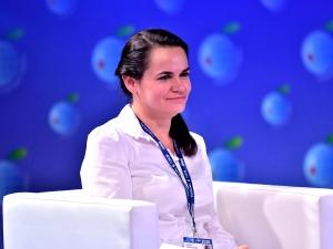 Szef MSZ po spotkaniu z Cichanouską: pełna zgodność poglądów w kwestiach fundamentalnych wartości