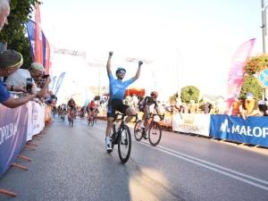 Finisz nie z tej ziemi kolarza z Israel Cycling Academy