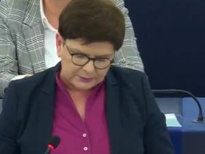 Wstyd! Właśnie 17 września wybrano na podjęcie kłamliwej rezolucji wobec Polski. Beata Szydło mocno o PE