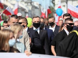 [video] Prezydent dołączył do Marszu dla Życia i Rodziny w Warszawie