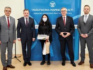 Finał konkursu Okręgowego Inspektora Pracy w Katowicach rozstrzygnięty