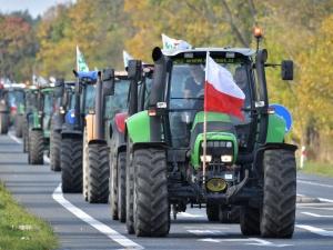 Rolnicze protesty w różnych częściach kraju