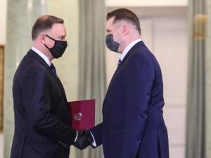 Prezydent Andrzej Duda powołał Przemysława Czarnka na ministra edukacji i nauki