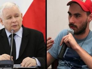 Straszno-śmieszny, mlaszczący mikrus. Znany pisarz atakuje Jarosława Kaczyńskiego