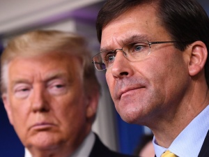 Donald Trump zdymisjonował szefa Pentagonu