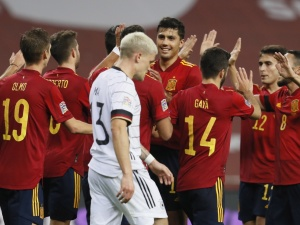 Hiszpanie zmiażdżyli Niemców w meczu piłkarskiej Ligi Narodów. To ich…