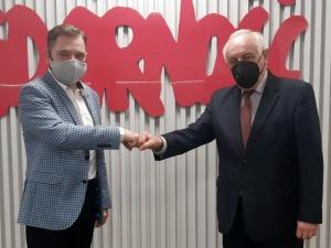 Przewodniczący Solidarności spotkał się z Głównym Inspektorem Pracy