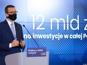 Premier: 12 mld bezzwrotnego wsparcia na inwestycje, edukację, cyfryzację, remonty szpitali