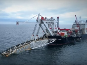 Wznowiono prace przy budowie gazociągu Nord Stream 2