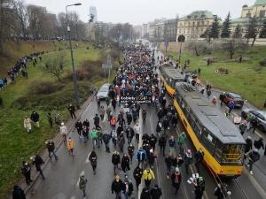 Śledzińska-Katarasińska: Idziemy po wolność; 39 lat po tamtym 13 grudnia. Dziennikarz: Pani o wolności? Trzeba wstydu nie mieć