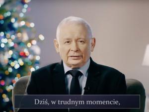 [Video] Jesteśmy jedną wielką rodziną. Kaczyński składa świąteczne życzenia