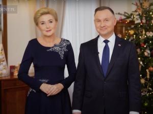 [Video] Poruszające życzenia od Pary Prezydenckiej z okazji Świąt Bożego Narodzenia
