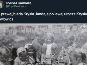 Pawłowicz i Janda chodziły razem do przedszkola? Pawłowicz pokazuje zdjęcia: Przyszły dystrybutor szczepionek - Krysia Janda