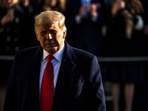 Donald Trump zaapelował o zachowanie spokoju