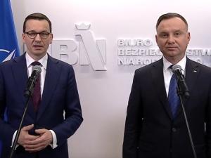 Prezydent Duda i Premier Morawiecki gratulują Joe Bidenowi