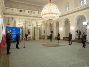 Zmiany w Radzie Dialogu Społecznego. Prezydent wręczył nominacje