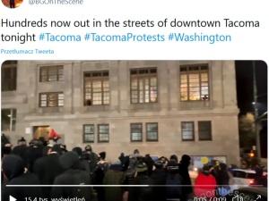 """Awantura w USA! Antifa demoluje Waszyngton. """"Krzyczeli by uwolnić więźniów"""""""