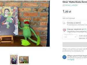 Matka Boska Kermitowska. Oburzająca aukcja na WOŚP