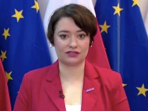[video] Żukowska: Trzymam kciuki. Jeżeli rządowi PiS uda się uzyskać reparacje, to będzie cudownie