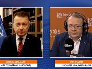 [video] Min. Błaszczak: W stoczni polskiej będą budowane okręty wojskowe dla WP