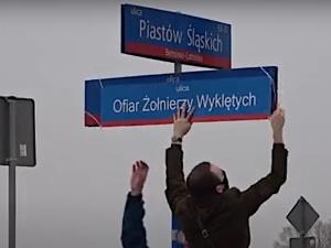 [video] Skandal! Tak pogrobowcy komuny uczcili Narodowy Dzień Pamięci Żołnierzy Wyklętych