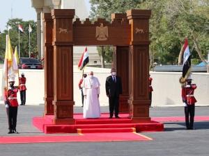 Irak: Papież Franciszek wygłosił przemówienie w Pałacu Prezydenckim