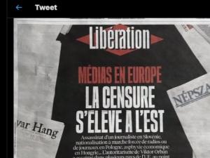 Liberation chciał się przyczepić do cenzury na wschodzie, ale pomylił Słowację ze Słowenią. Premier Słowenii w śmiech