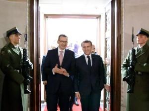 Plan Odbudowy, polityka klimatyczna, energetyka. Dziś spotkanie Morawiecki-Macron
