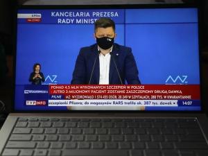 Czy wraz z postępem szczepień planowane są dalsze odmrożenia pracy służby zdrowia?. Min. Dworczyk odpowiada na pytanie Tysol.pl