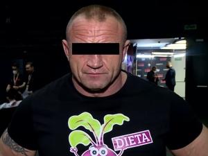 Słynny zawodnik MMA i Strongman Mariusz P.oskarżony