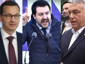 Morawiecki, Orban, Salvini. W PE powstaje prawicowa siła, która zepchnie niby-chadecję do opozycji