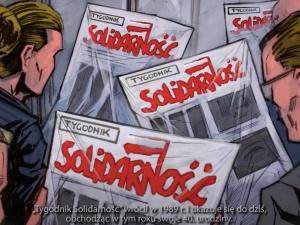 """[WIDEO] Zobacz niesamowity spot o wolności słowa na 40-lecie """"Tygodnika Solidarność"""""""
