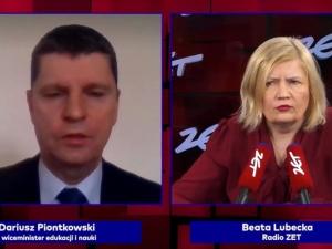 [video] Min. Piontkowski zaskakuje podając możliwy termin powrotu uczniów do szkół