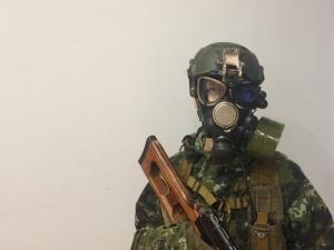 Ważny rosyjski urzędnik: Rosja może militarnie interweniować na Ukrainie