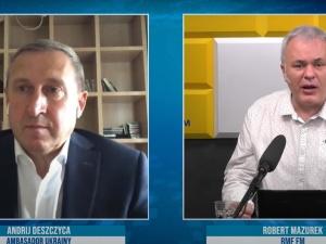 [video] Mazurek do ambasadora Ukrainy otwarcie: Jak to możliwe, że nazywacie imionami zbrodniarzy stadiony, ulice?
