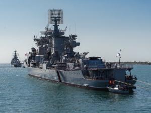 Napięcie między Ukrainą a Rosją. Rosja przerzuca kolejne okręty na Morze Czarne