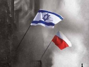 [Tylko u nas] Polacy, obywatele! Żołnierze wolności!. Dwie flagi nad murami warszawskiego getta
