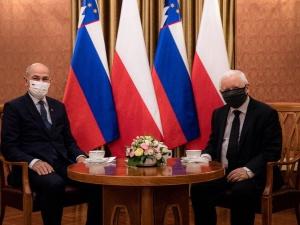 Mamy w Polsce wielkiego przyjaciela. Kaczyński spotkał się z premierem Słowenii, która obejmie przewodnictwo Rady Unii Europejskiej