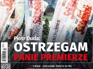 Najnowszy numer TS Piotr Duda: Ostrzegam Panie Premierze