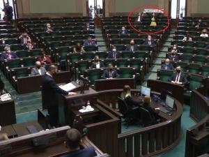 [video] Wstydź się, Polsko!, Konstytucja. Jachira prowokuje w Sejmie w święto 3 maja