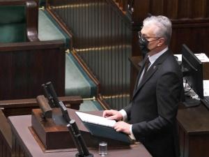 Mocne słowa prezydenta Litwy w Sejmie: Nigdy nie uznamy aneksji Krymu
