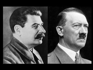 """Paradne! Projekt ustawy zakazujący zestawienia Hitlera i Stalina. """"Misja humanitarna ZSRR podczas wyzwalania…"""""""