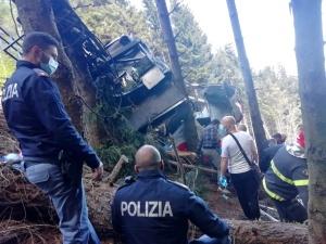 Włochy: Rośnie liczba ofiar katastrofy kolejki górskiej