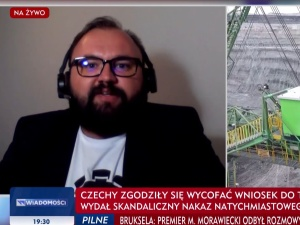M. Kosiński w TVP Info: Jak  w kwestii Turowa można mówić o dochodzeniu do sprawiedliwej transformacji energetycznej?