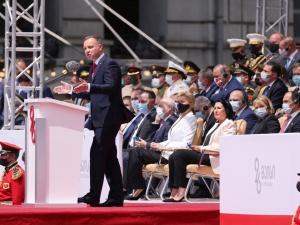 Prezydent Duda w Gruzji: Będziemy promować integrację Gruzji z NATO i UE. Macie w Polsce sojusznika