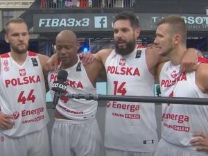 Koszykówka 3x3. Reprezentacja Polski pokonała Łotwę i awansowała na Igrzyska Olimpijskie w Tokio