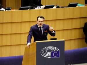 Tarczyński mocno o słowach Jaśkowiaka. Skandaliczne słowa, skandaliczne wystąpienie