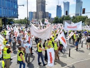Protest Solidarności w Warszawie [FOTORELACJA]